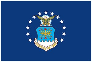 US Air Force 3' x 5' Indoor Polyester Flags