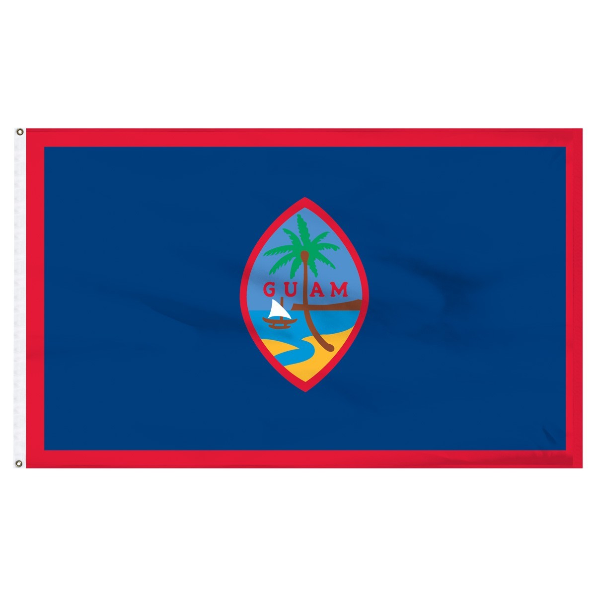 Guam 2' x 3' Indoor Polyester Flag