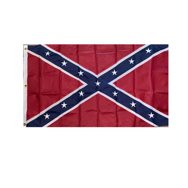 Rebel Flag - Confederate Flag 3' x 5' Outdoor Nylon Flag