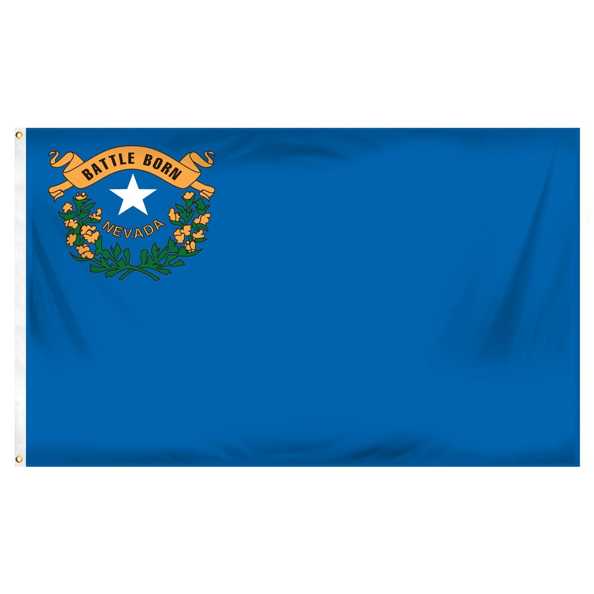 Nevada  2' x 3' Indoor Polyester Flag