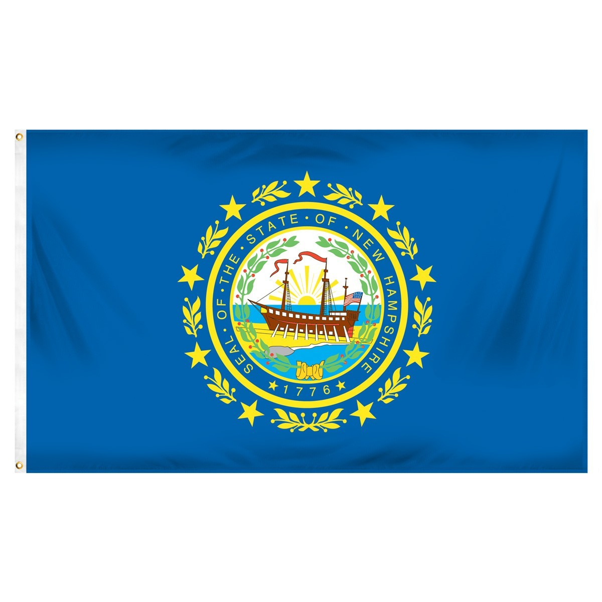 New Hampshire  2' x 3' Indoor Polyester Flag