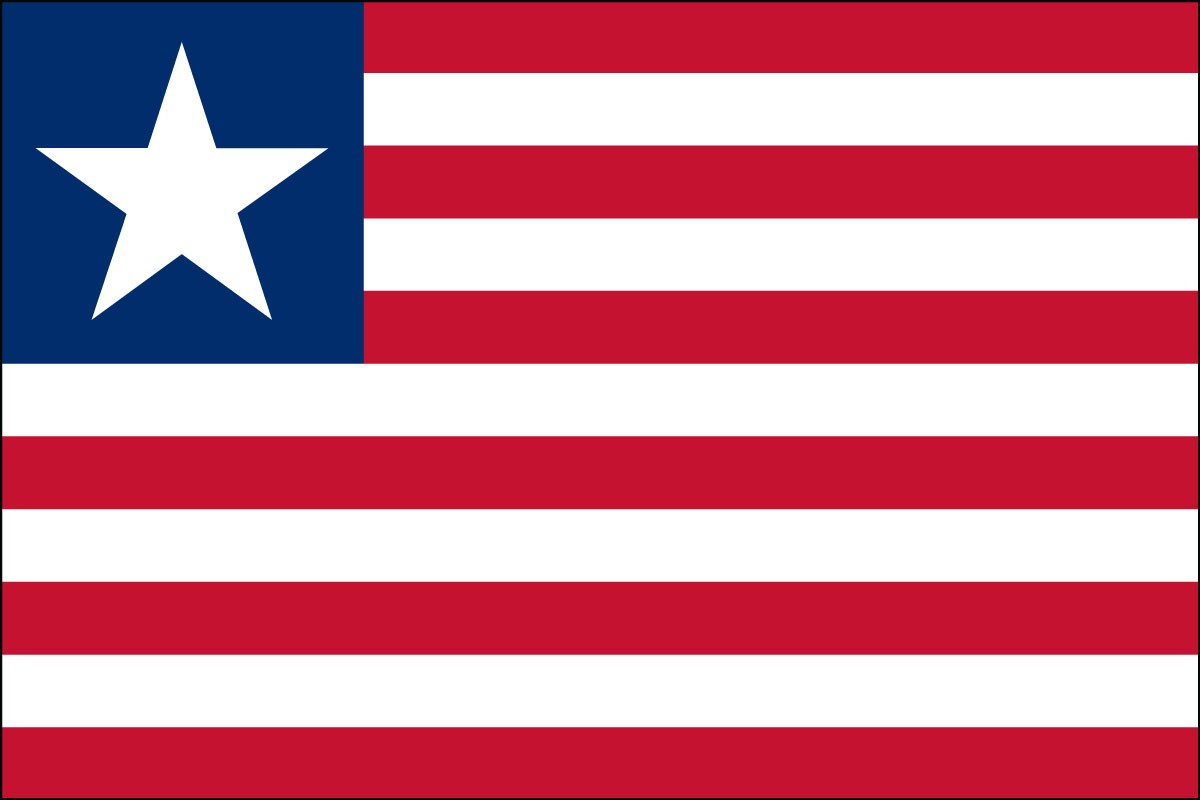 Liberia Indoor Polyester Flag