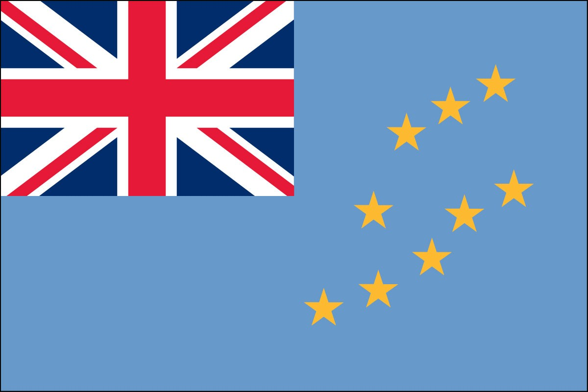 Tuvalu Flags For Sale Indoor and Outdoor by 1-800 Flags