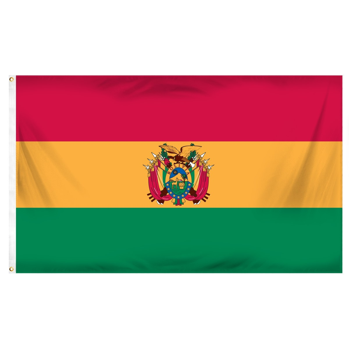 Bolivia 3ft x 5ft Indoor Polyester Flag