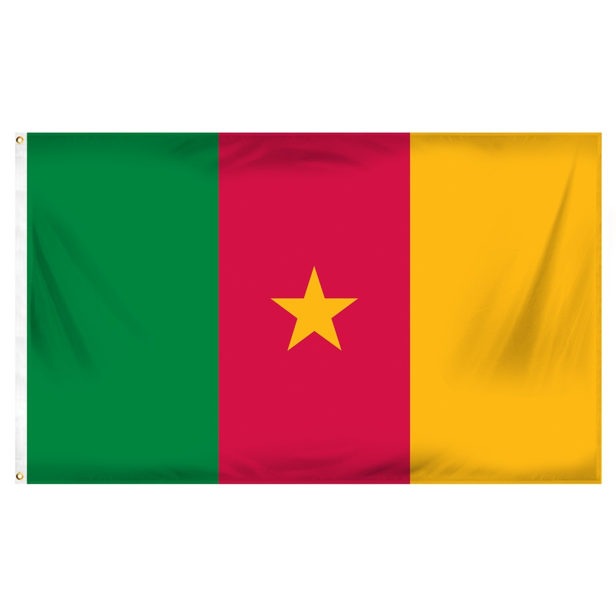 Cameroon 3' x 5' Indoor Polyester Flag