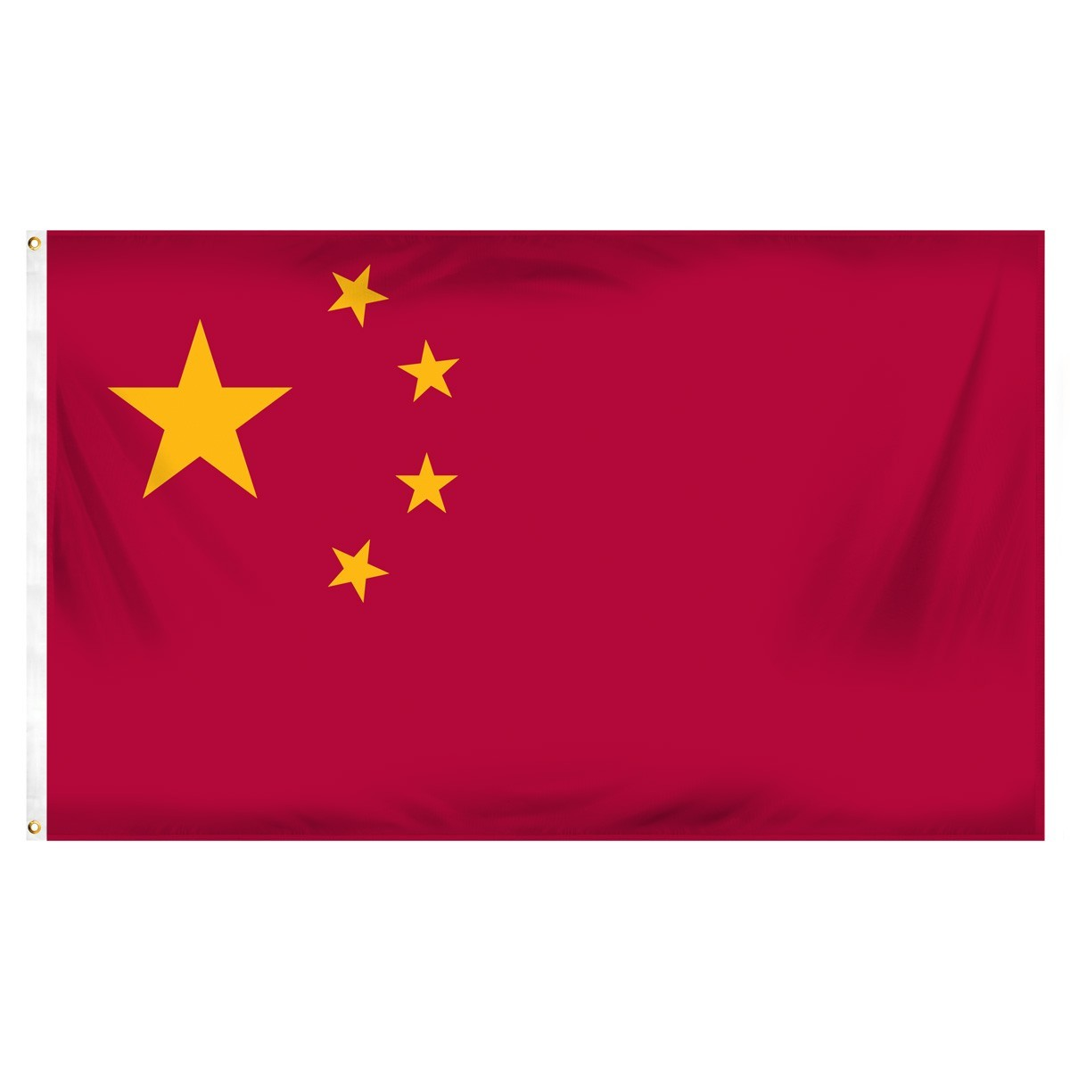 China 3' x 5' Indoor Polyester Flag