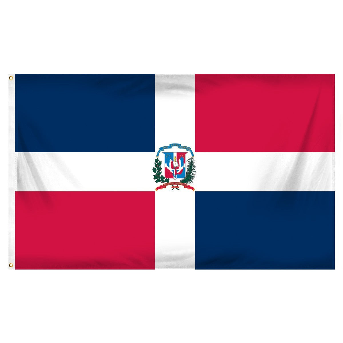 Dominican Republic 3' x 5' Indoor Polyester Flag