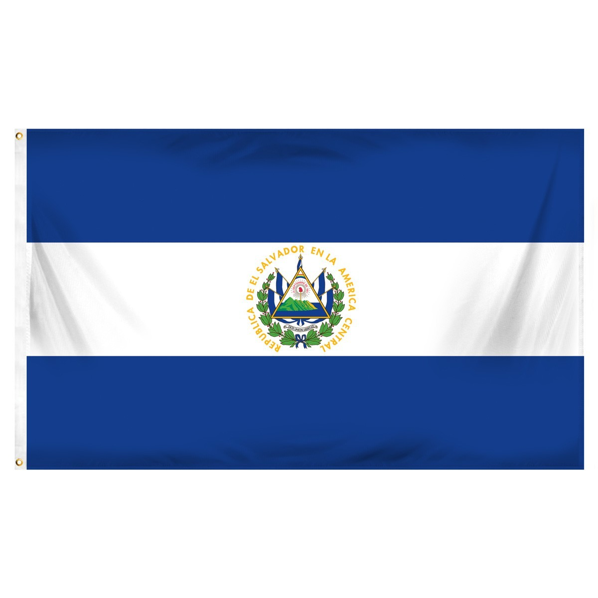 El Salvador 3' x 5' Indoor Polyester Flag