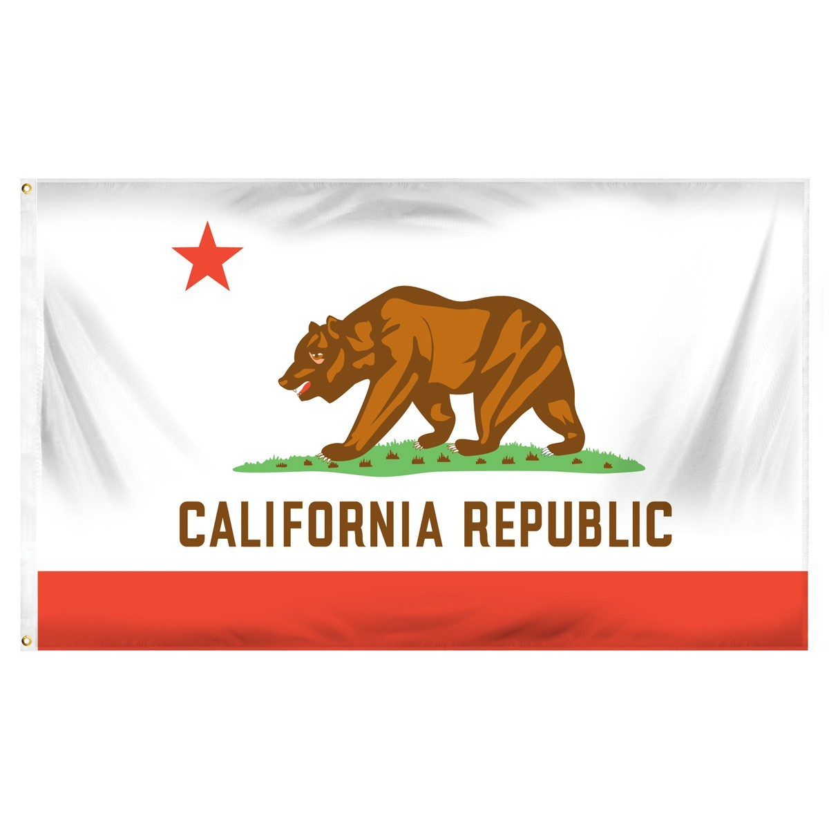 California  3' x 5' Indoor Polyester Flag