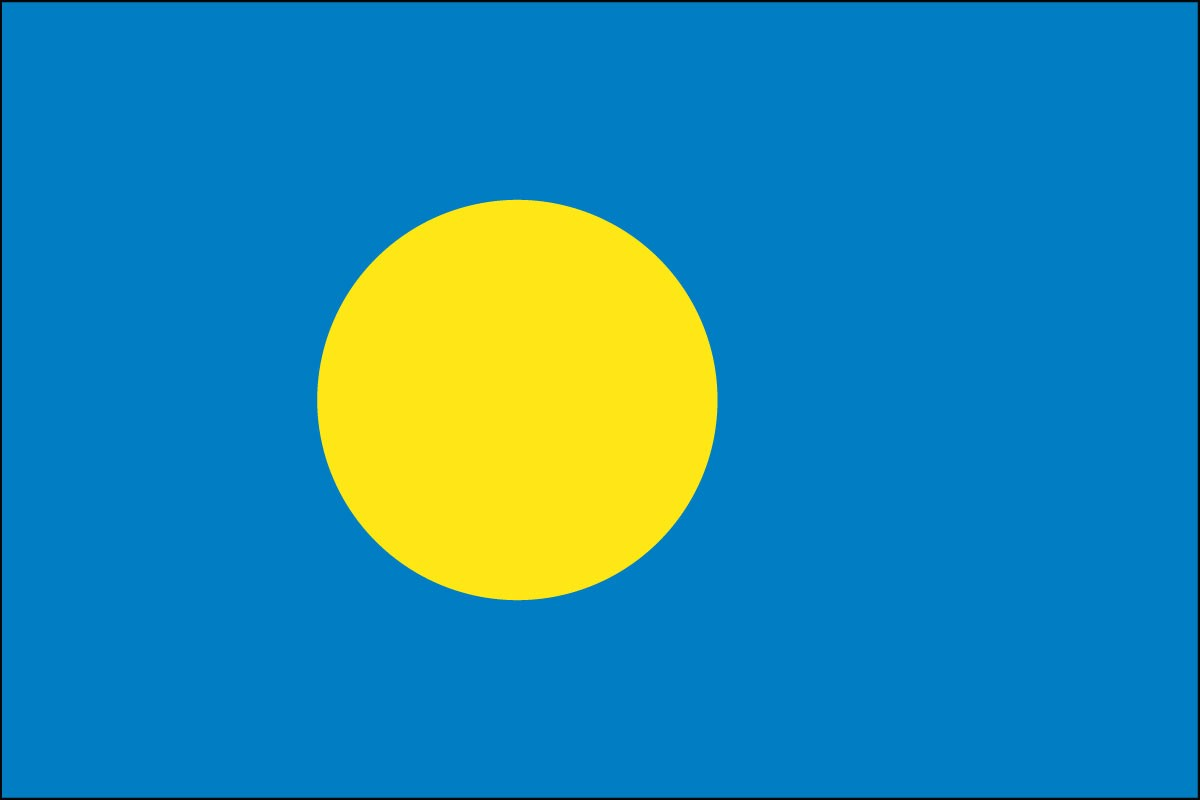 Palau school flags for sale
