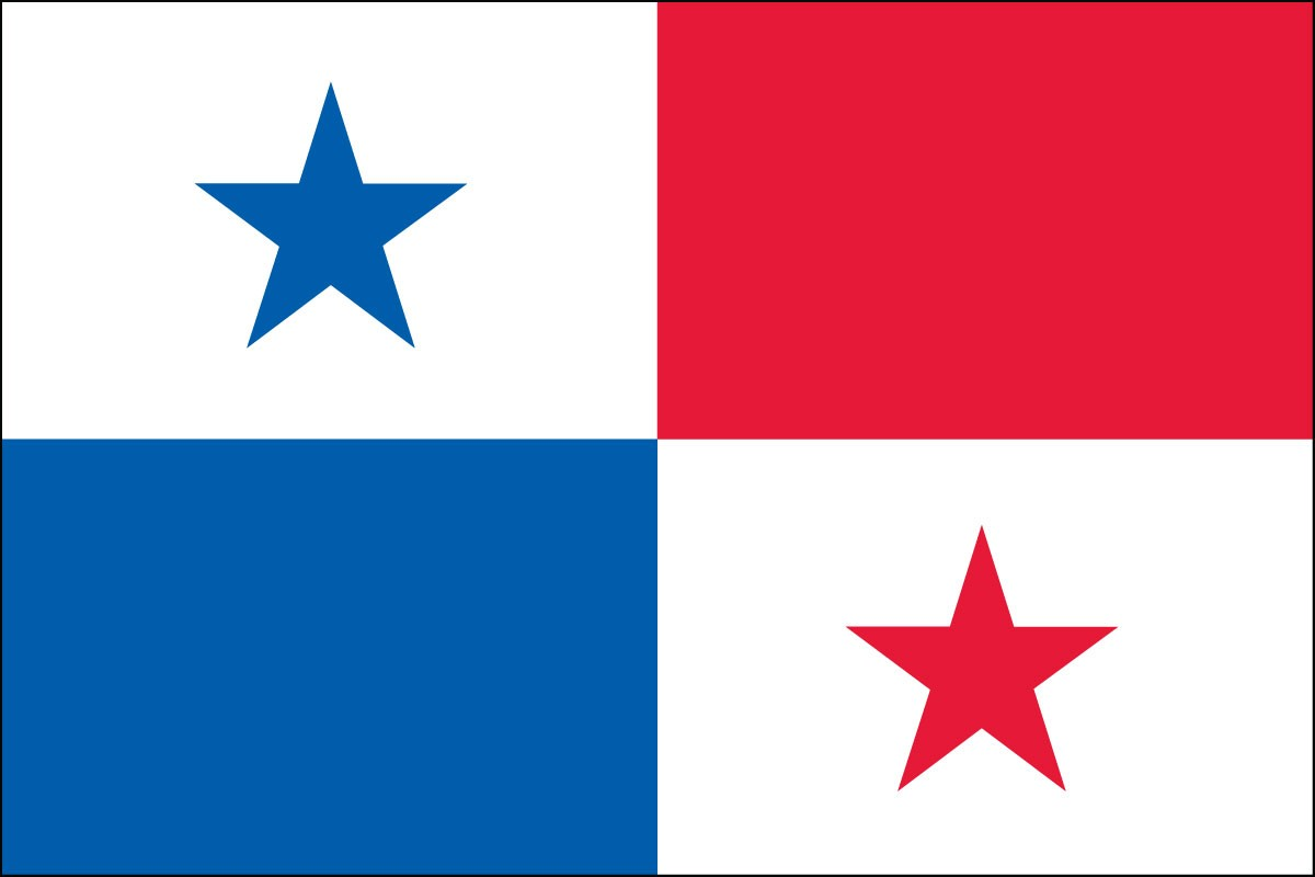 Panama 3' x 5' Indoor Polyester Flag