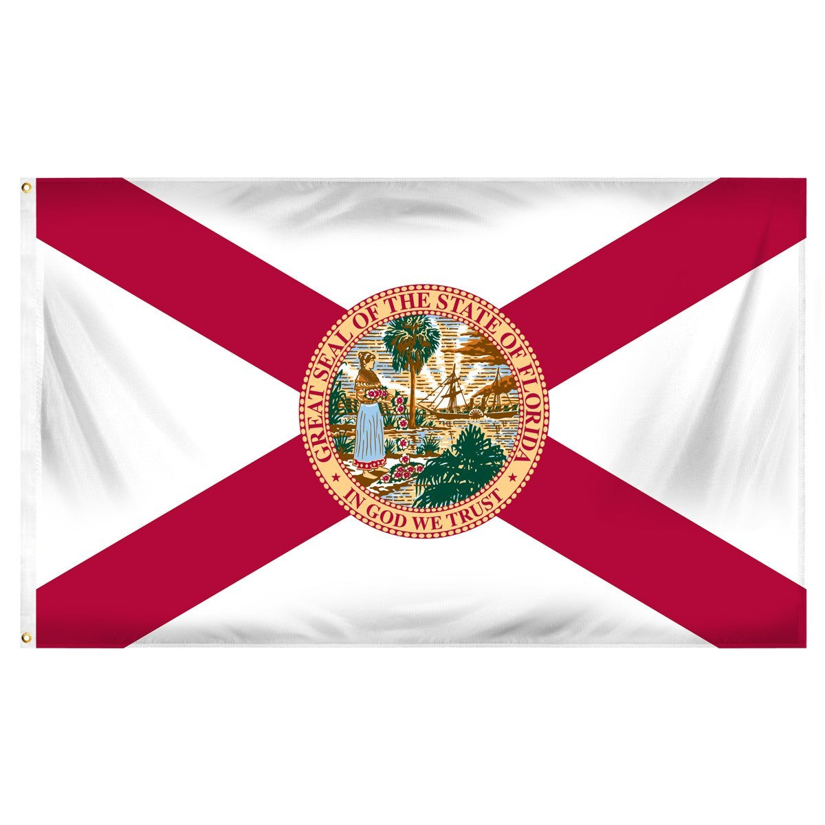 Florida  3' x 5' Indoor Polyester Flag