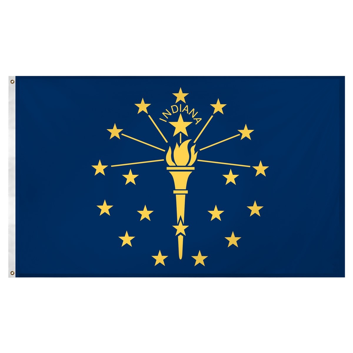 Indiana  3' x 5' Indoor Polyester Flag