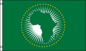 African Union 3' x 5' Indoor Polyester Flag