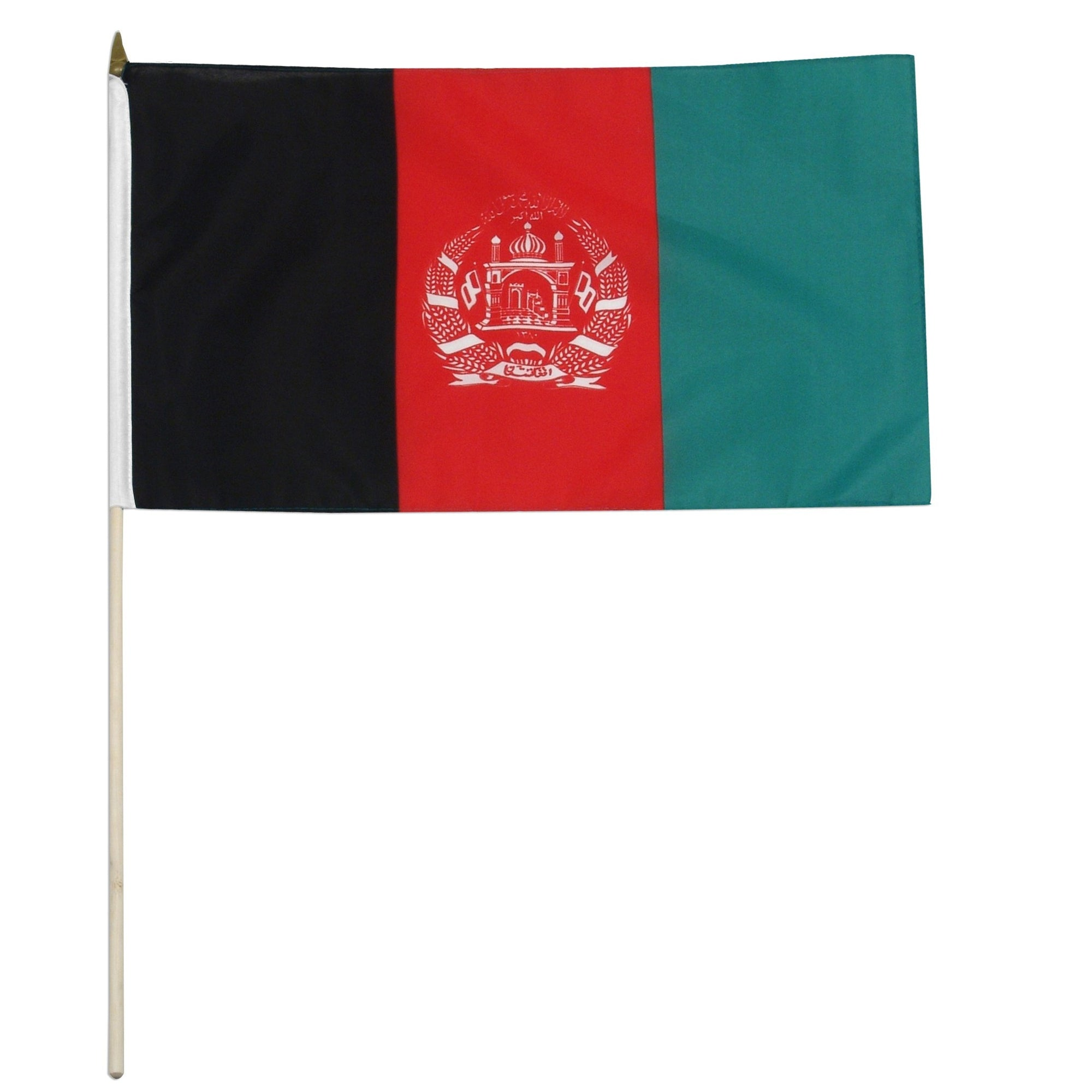 Afghanistan 12X18 Inch Mounted Country Flag
