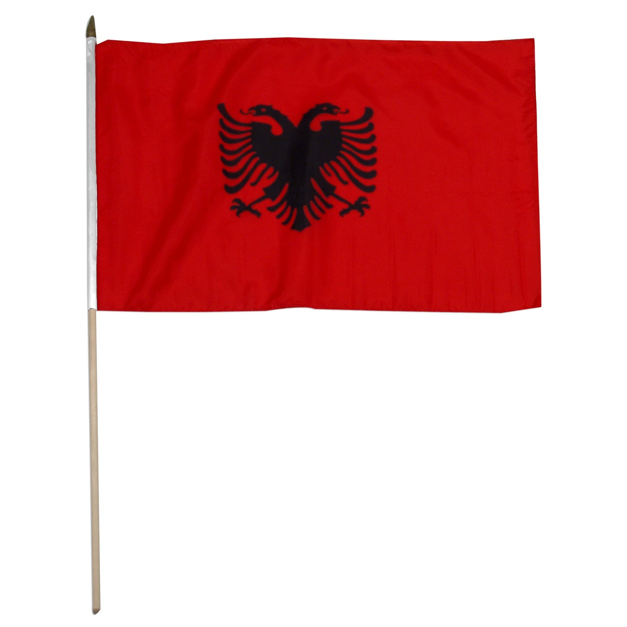 "Albania 12"" x 18"" Mounted State Flag"
