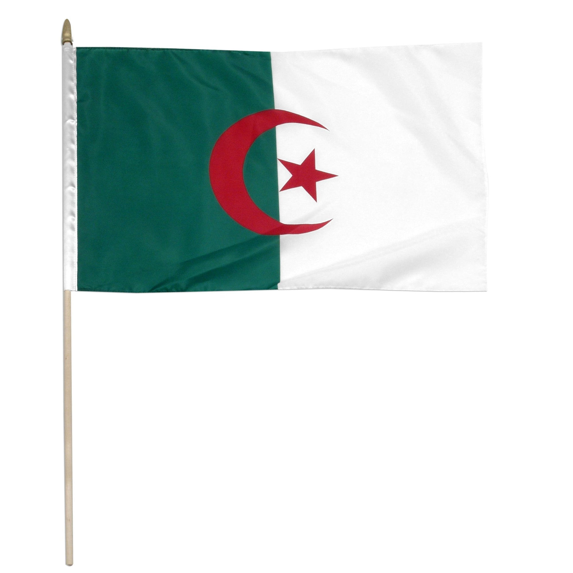 "Algeria 12"" x 18"" Mounted Country Flag"