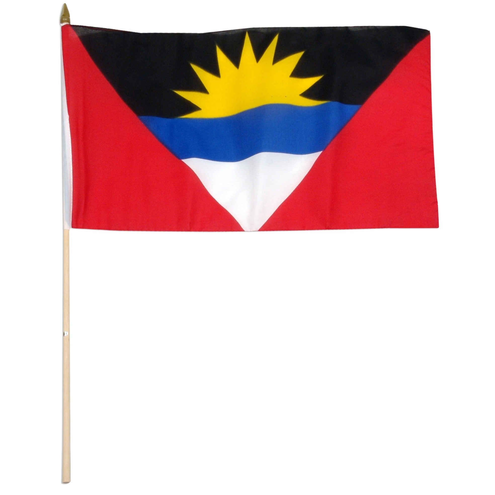 "Antigua & Barbuda 12"" x 18"" Mounted Island Flag"