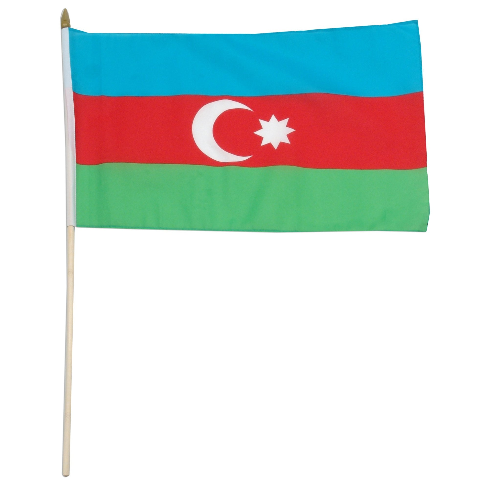 "Azerbaijan 12"" x 18"" Mounted Country Flag"