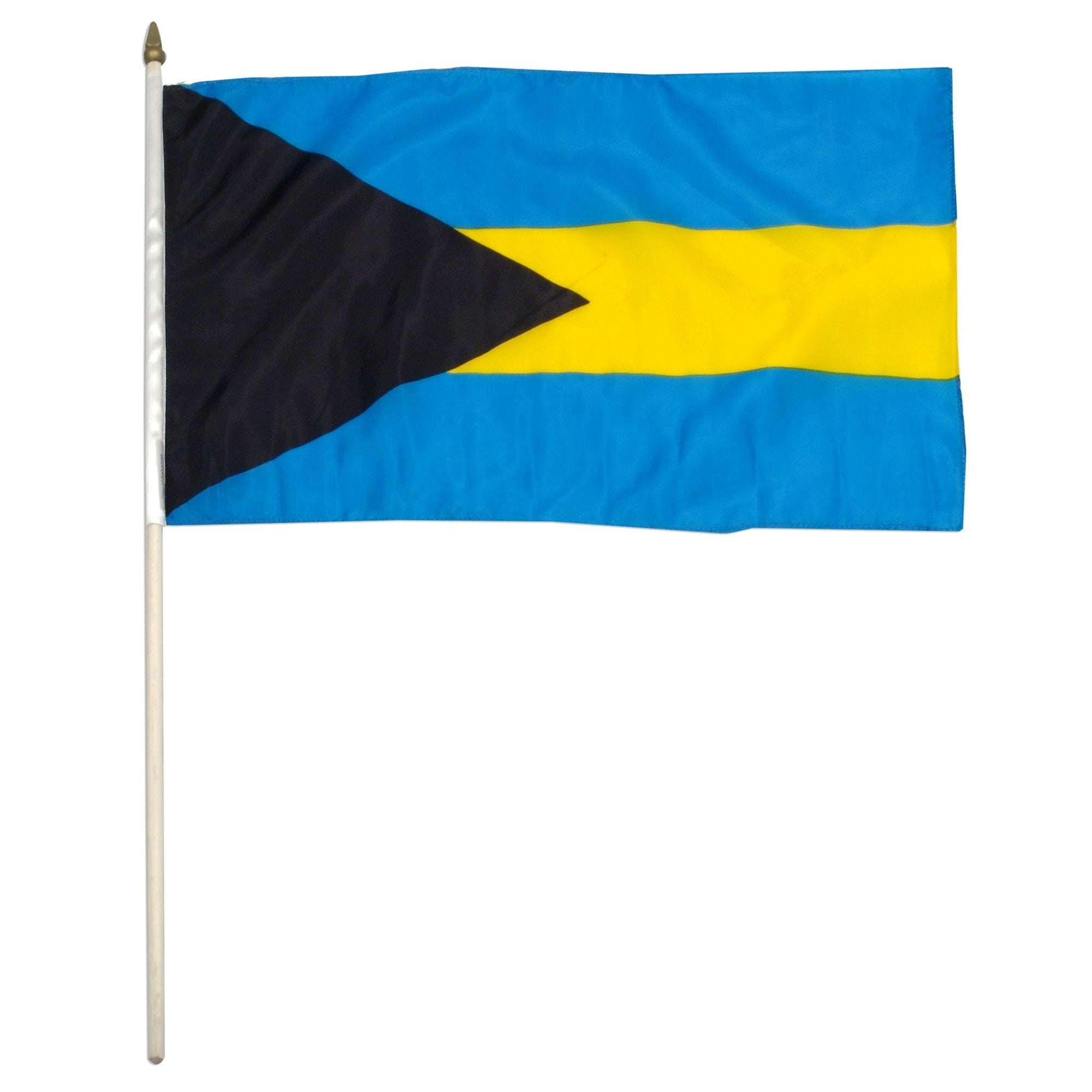 "Bahamas 12"" x 18"" Mounted Country Flag"
