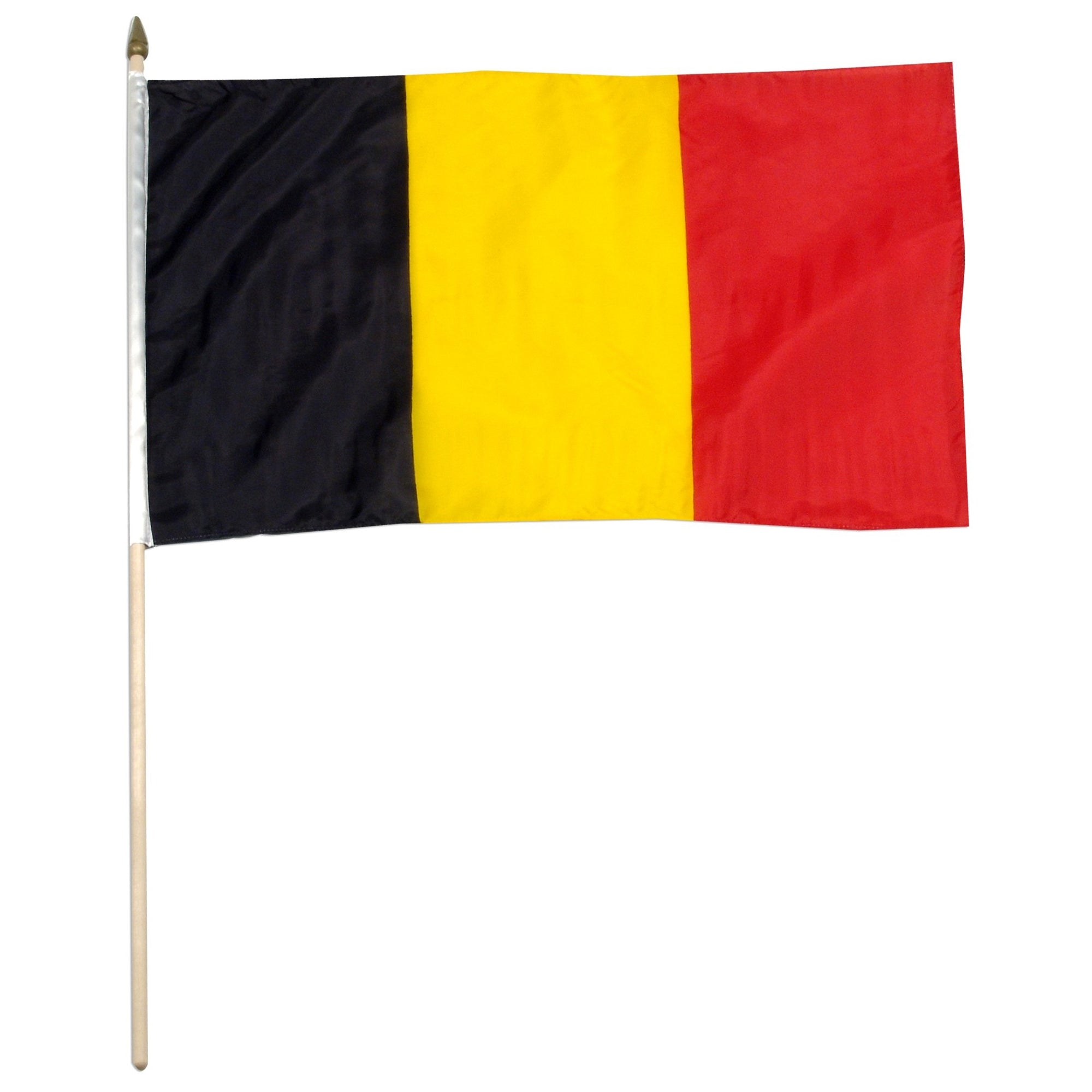 "Belgium 12"" x 18"" Mounted Country Flag"