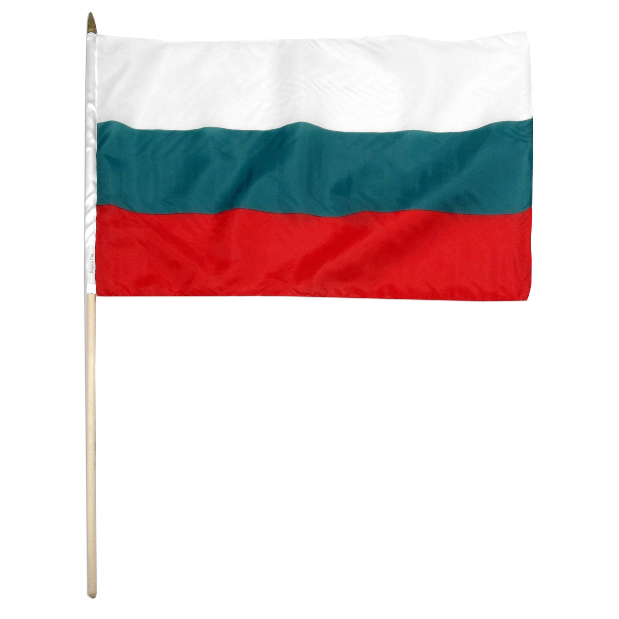 "Bulgaria 12"" x 18"" Mounted Flag"