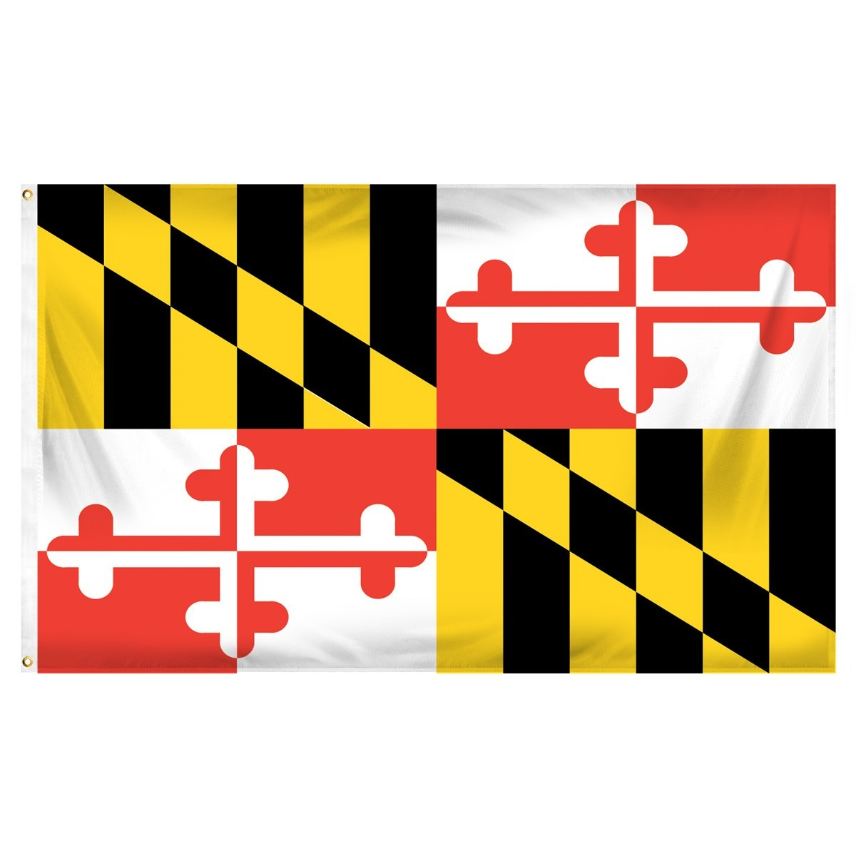 Maryland  3' x 5' Indoor Polyester Flag