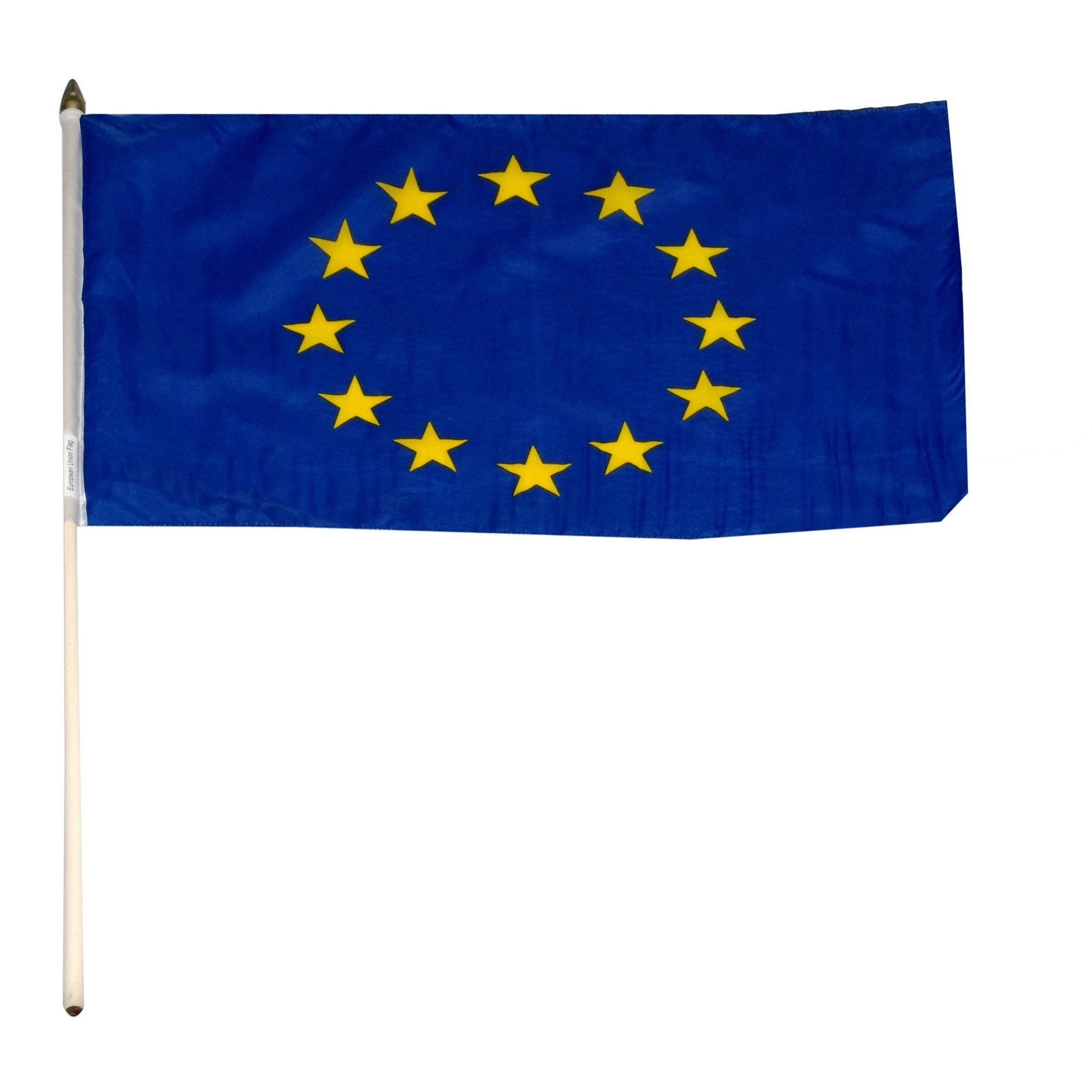 "European Union 12"" x 18"" Mounted Flag"