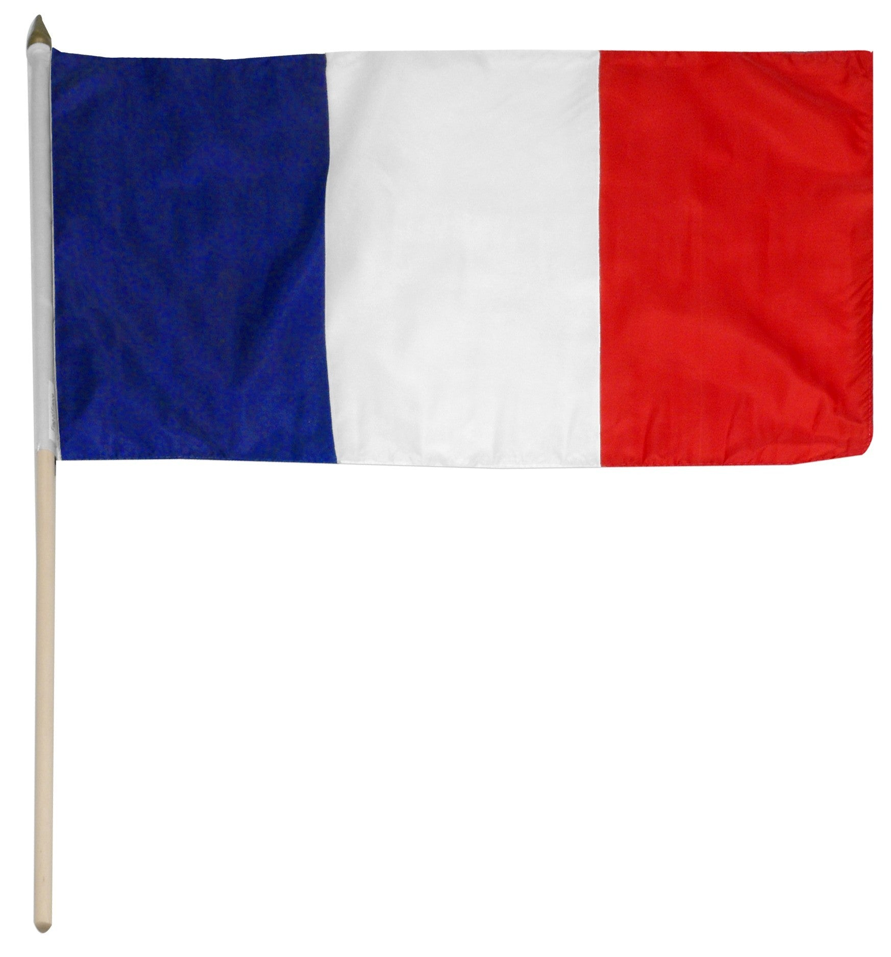 "France 12"" x 18"" Mounted Flag"