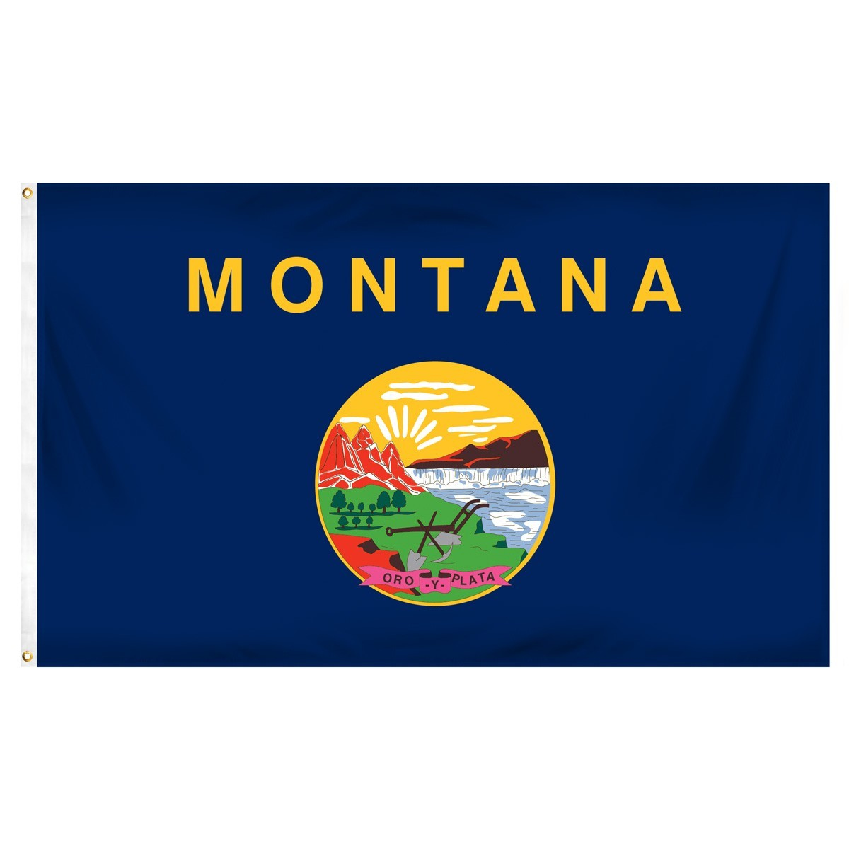 Montana  3' x 5' Indoor Polyester Flag