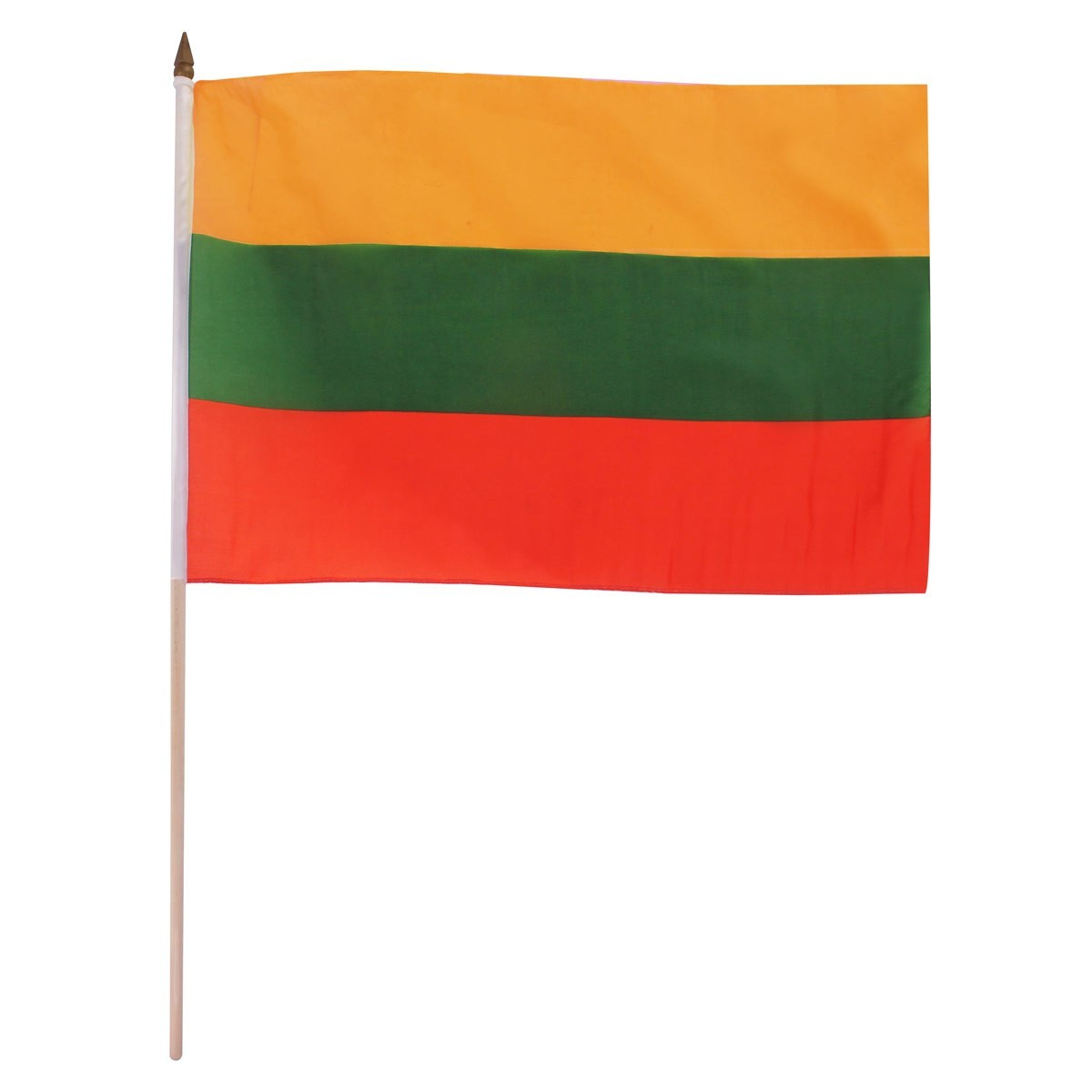 "Lithuania 12"" x 18"" Mounted Flag"