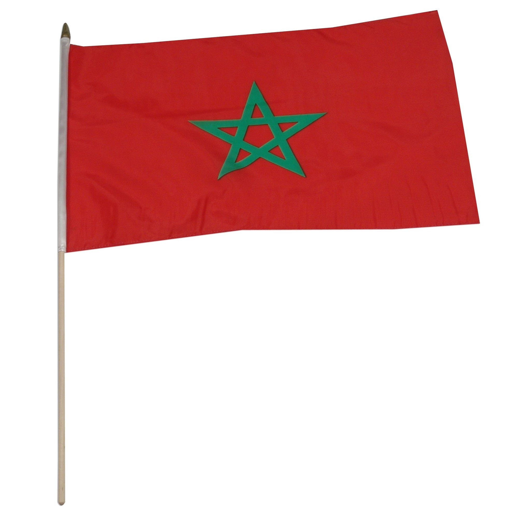 "Morocco 12"" x 18"" Mounted Flag"