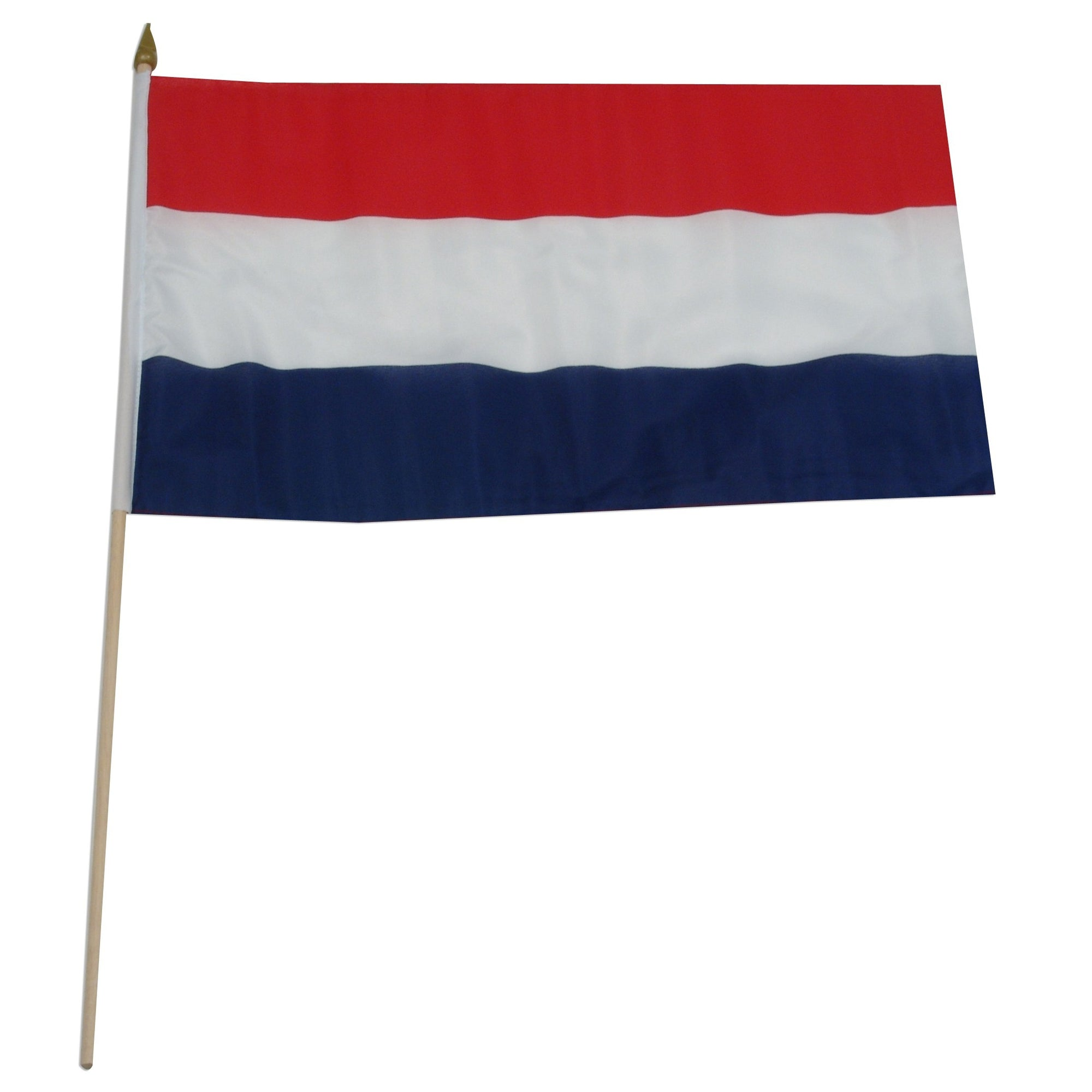"Netherlands 12"" x 18"" Mounted Flag"