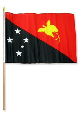 Papua-New Guinea classroom nylon and polyester flags for sale