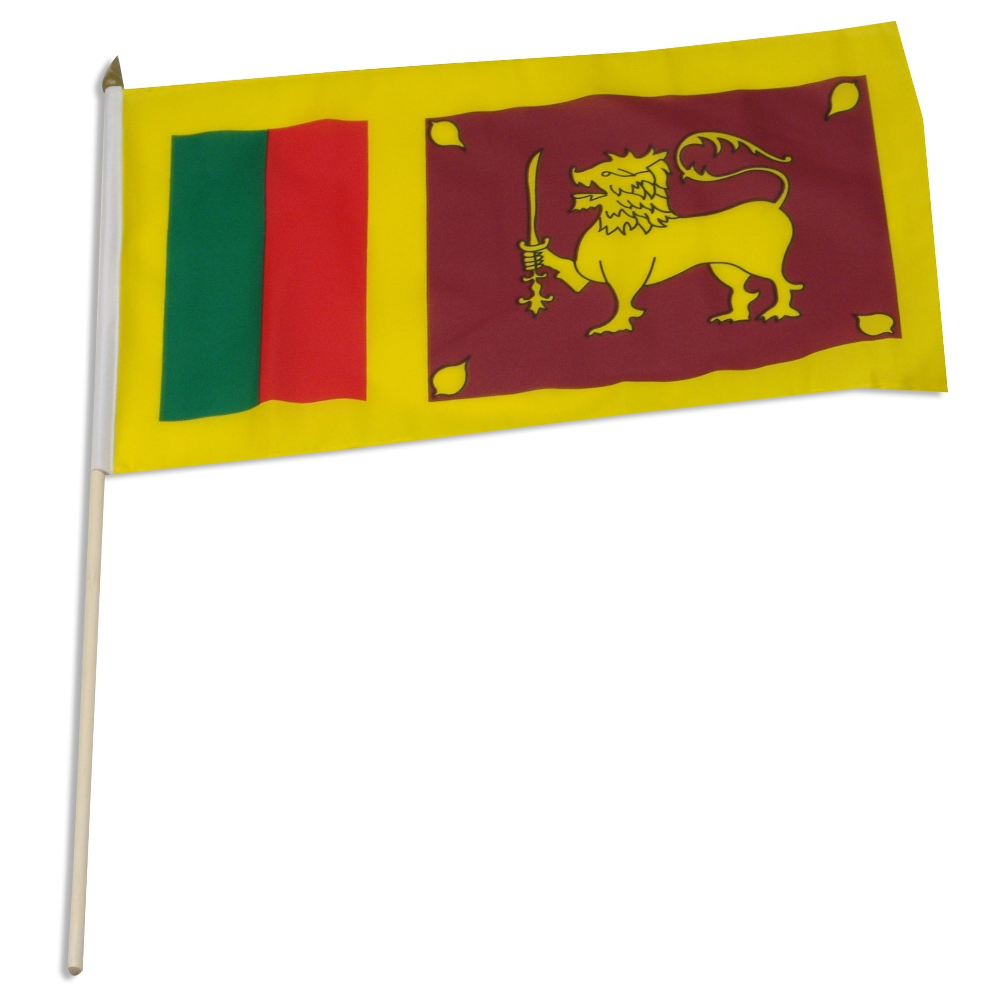 "Sri Lanka 12"" x 18"" Mounted Flag"