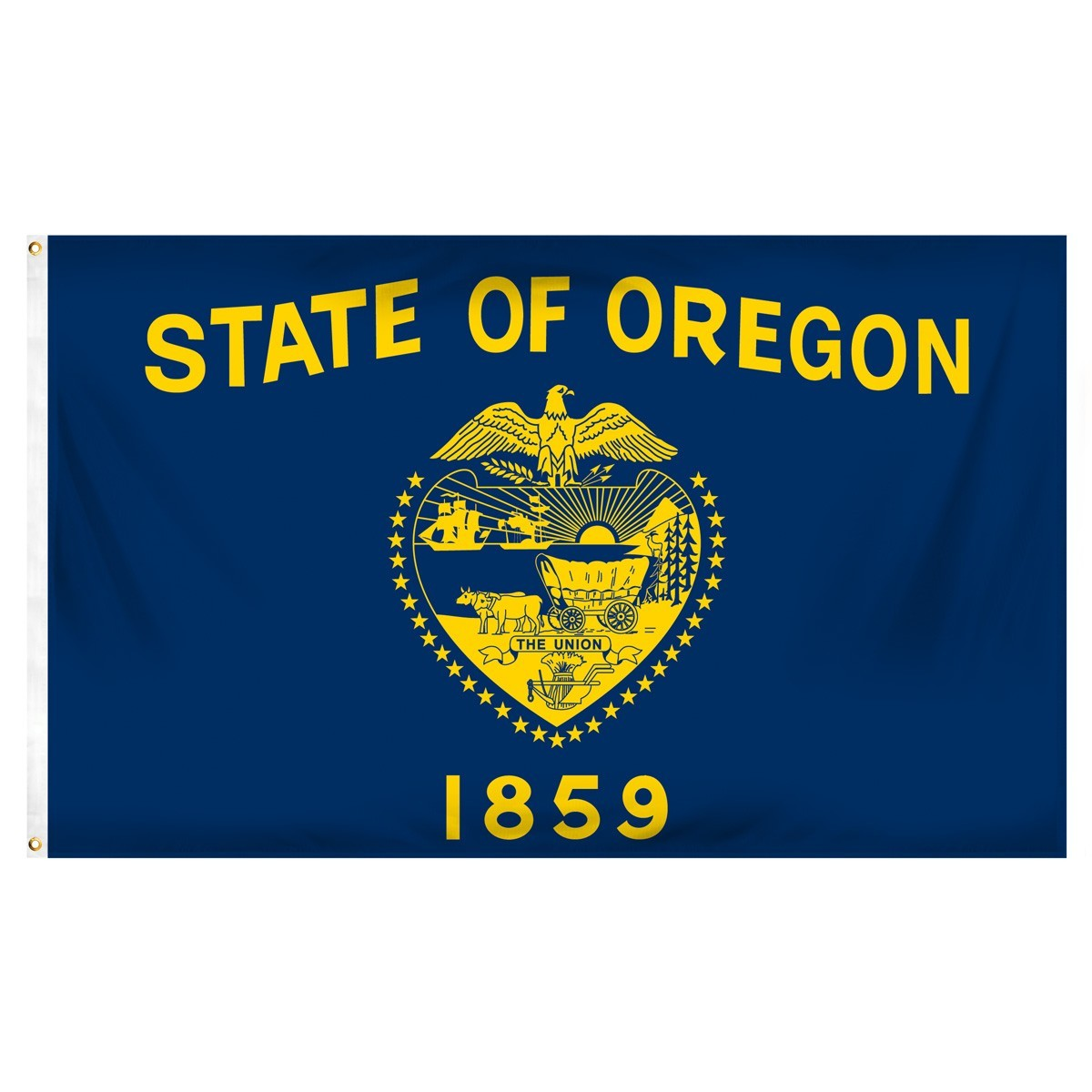 Oregon  3' x 5' Indoor Polyester Flag