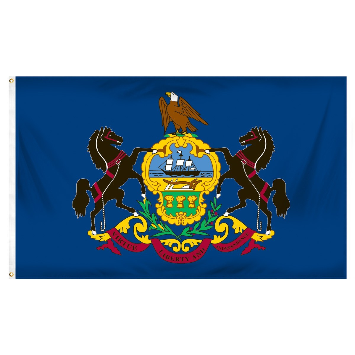 Pennsylvania  3' x 5' Indoor Polyester Flag