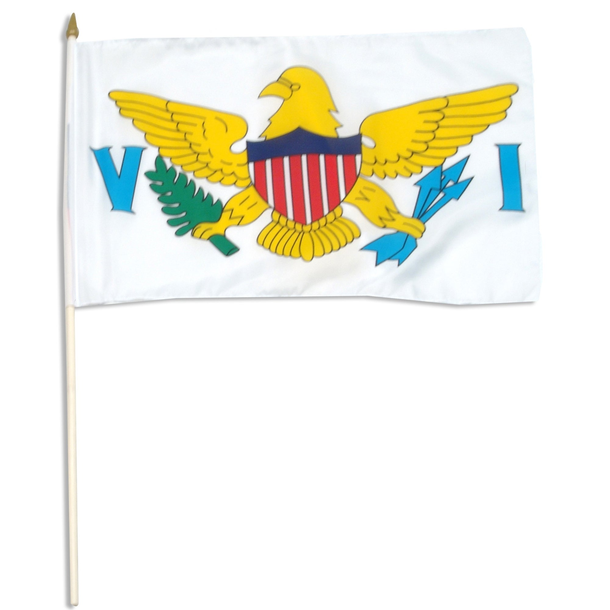 "US Virgin Islands 12"" x 18"" Mounted Flag"