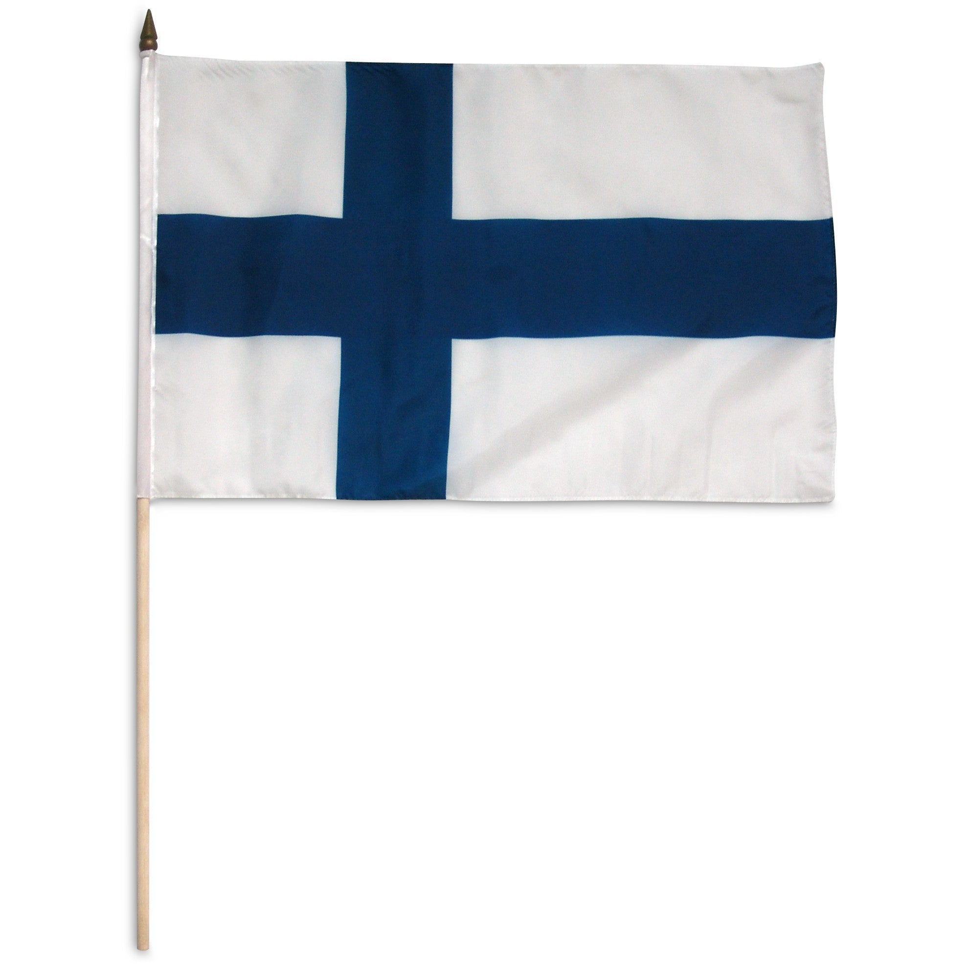 "Finland 12"" x 18"" Mounted Flag"