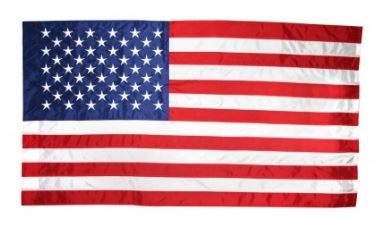 Indoor US Flag and Parade Flags