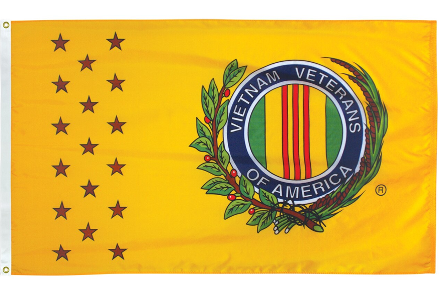 Vietnam Vets 3' x 5' Outdoor Veterans Commemorative Flags