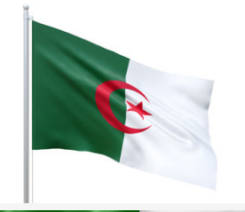 Algeria High Quality 2ft x 3ft Outdoor Nylon Country Flag
