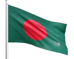 Bangladesh 3' x 5' Indoor Polyester Country Flag