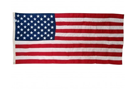 "G-Spec Small Nylon Flag (2'4 7/16"" x 4'6"") - Government Flags"