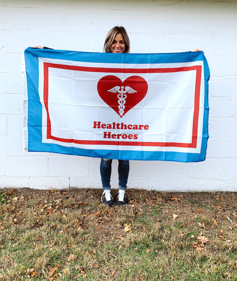 Healthcare Heroes 3' x 5' Outdoor Flag Covid-19 Flags