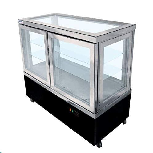 Tekna Refrigerated Display case All Glass 52'' Wide. ETL