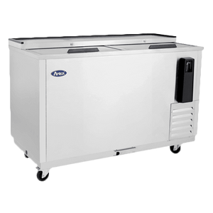 "MBC50GR Atosa Bottle Cooler, 49.4""W x 27.8""D x 36.62""H, self-contained side mount refrigeration,11.7 cu. ft."