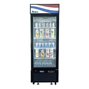 "MCF8722GR Refrigerator Merchandiser, one-section, 27""W x 31-1/2""D x 81-1/5""H, bottom-mounted self-contained re"