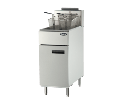ATFS-50 CookRite Fryer, gas, floor model, 15-3/5
