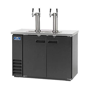 Arctic Air ADD48R-2 49-Inch Double-Tap Direct Draw Draft Beer Cooler/Dispenser/Kegerator, Black, 115v